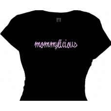 mommylicious great mom t shirt